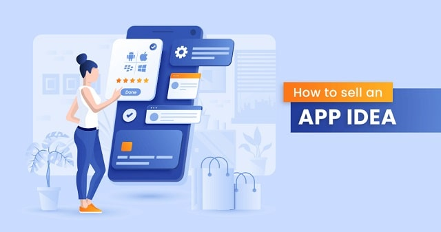 how to sell mobile app idea mvp application sale