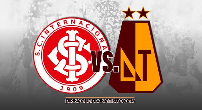 ¡A reescribir la historia! DEPORTES TOLIMA se juega su permanencia en la Copa Libertadores ante Internacional