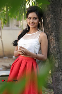 Actress Mahima Nambiar Latest Stills in White Top and Red Skirt at Kuttram 23 Movie Press Meet  0017.jpg