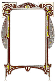 frame digital border design