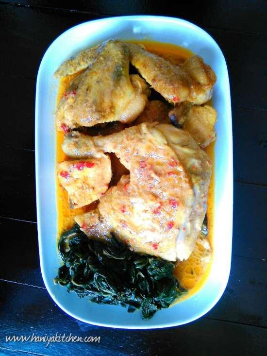 Resep Ayam Singgang Sumpu