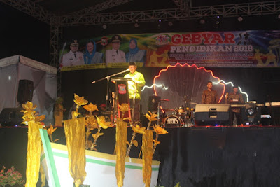 Plt. Kakankemenag Tanjungbalai Pimpin Doa Pembukaan Gebyar Pendidikan