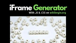 iFrame Generator