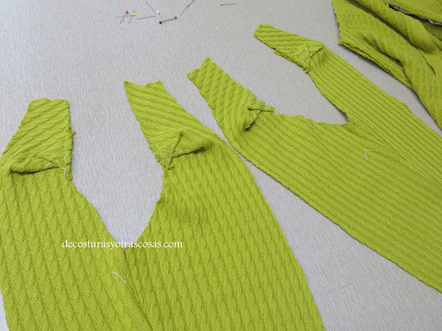 como hacer pliegues en una manga ranglan