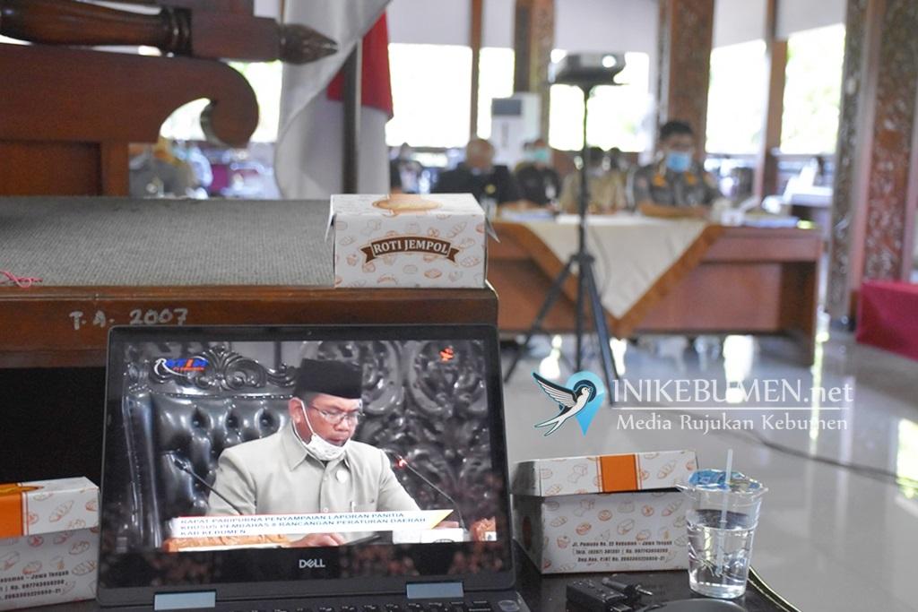 DPRD Kebumen Gelar Rapat Paripurna Lewat Siaran Langsung Ratih TV