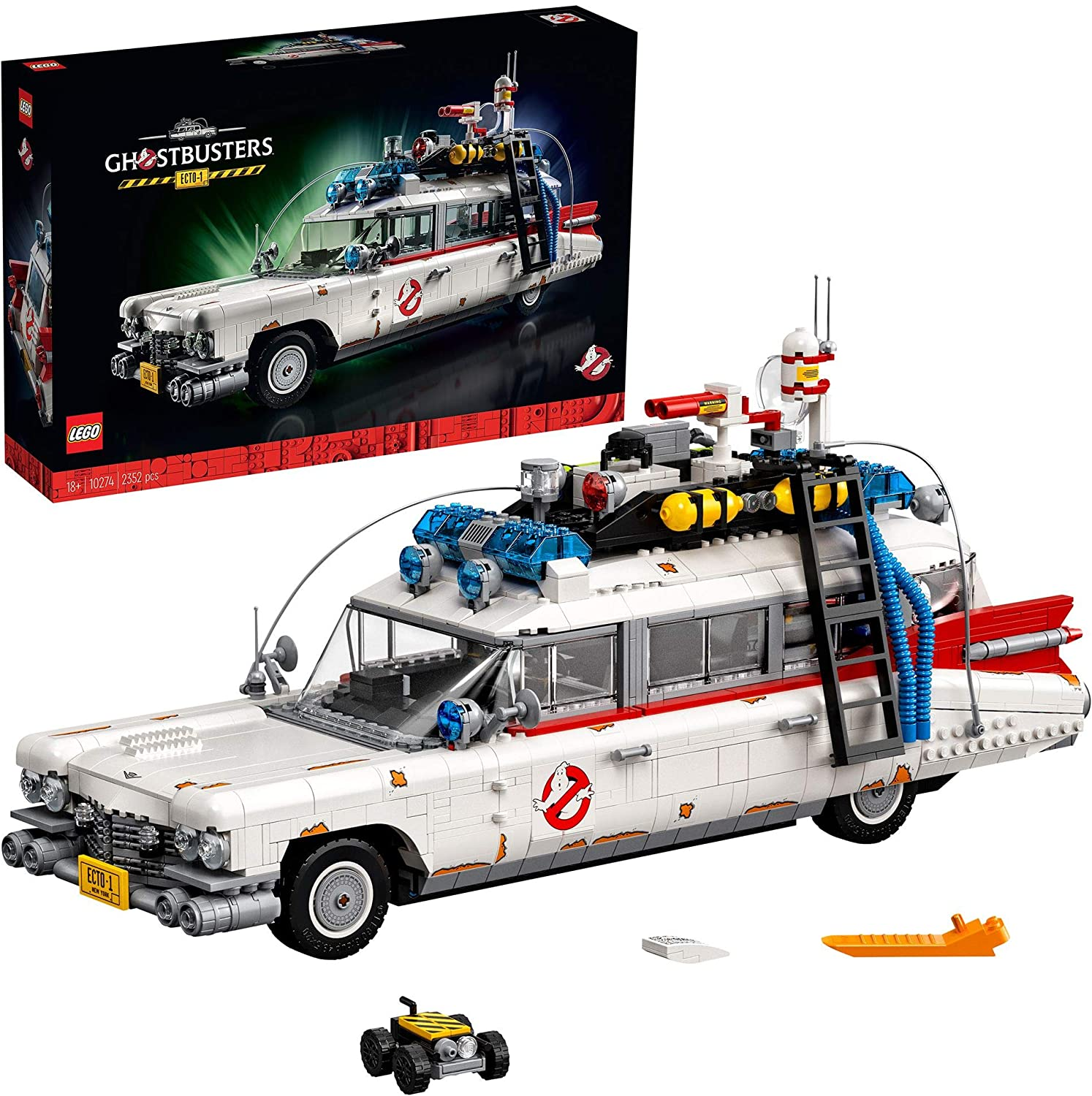 ECTO-1 LEGO Ghostbusters 2021