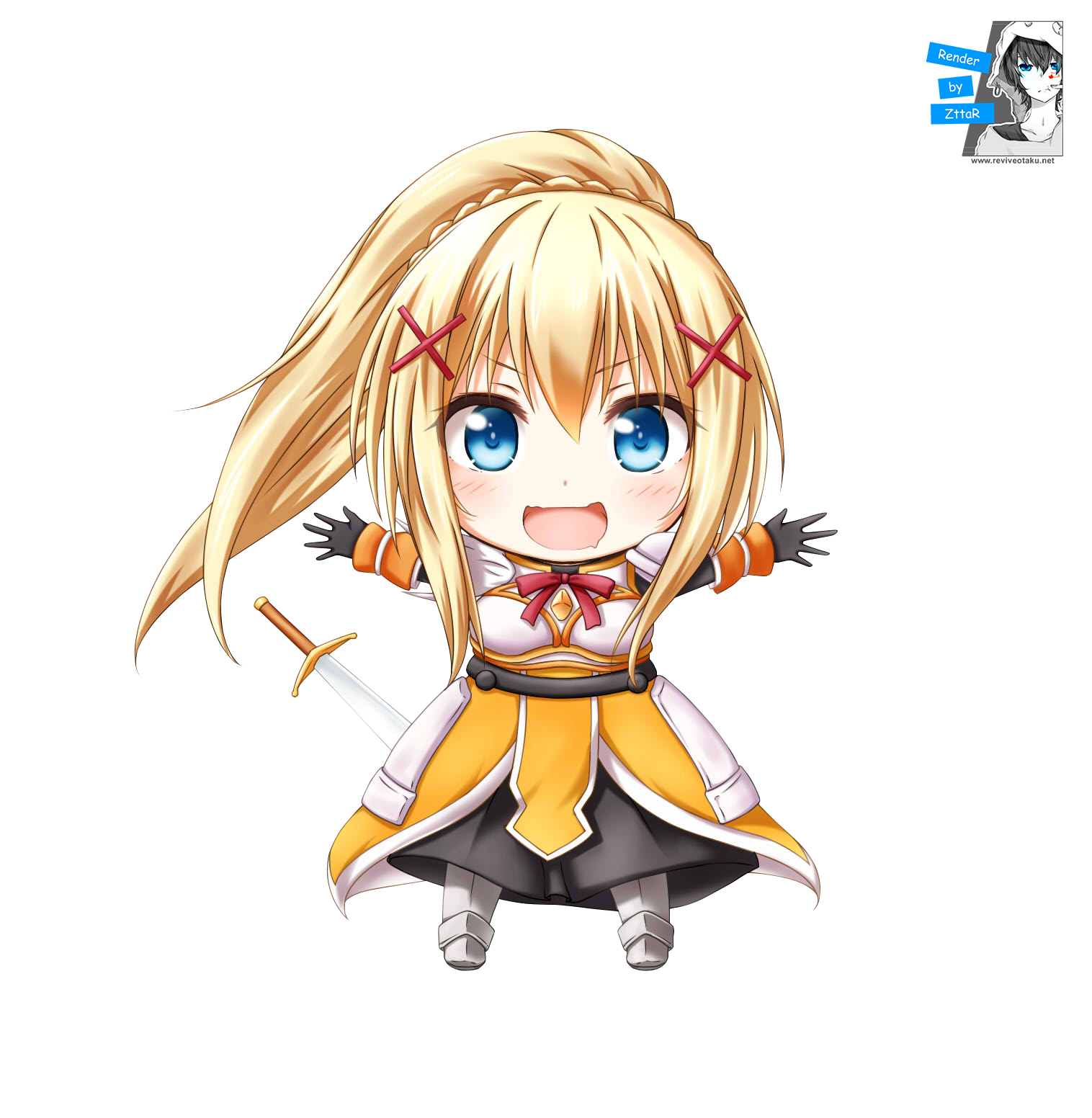 "Render Dustiness Ford ""Darkness"" Lalatina CHIBI"