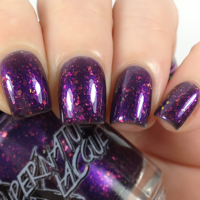 Supernatural Lacquer-Your Father Smelt of Elderberries!