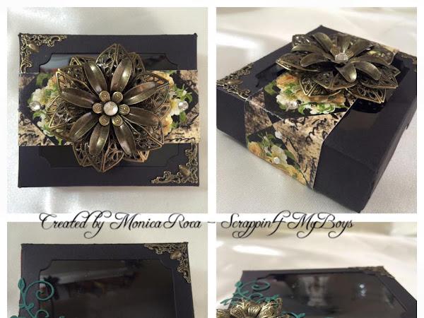 ButterBeeScraps DT Project : Decorative Shadow Boxes