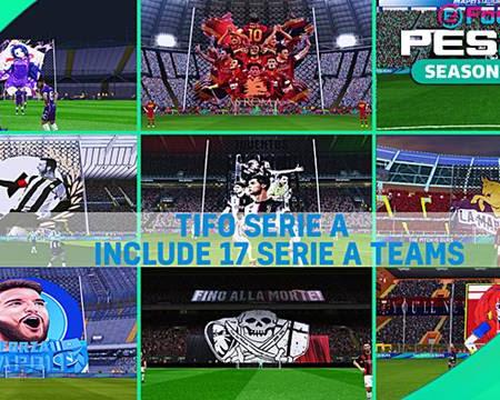 PES 2017 Tifo Serie A Teams Season 2020/2021