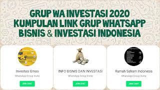 Link grup wa bisnis dan investasi indonesia