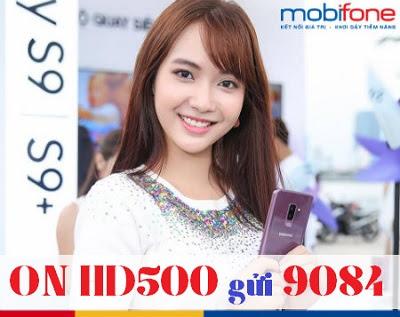 Gói cước HD500 MobiFone