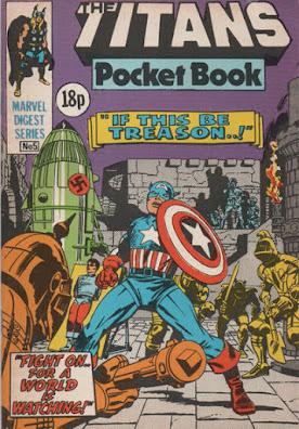 Titans pocket book #5, Captain America
