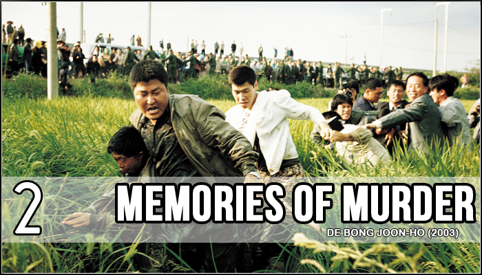 2 - Memories of Murder (Bong Joon-ho, 2003)