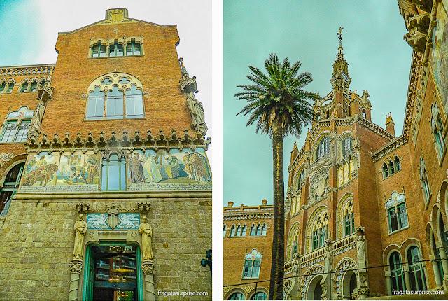 Pavilhão da Administração, Hospital de la Santa Creu i Sant Pau, Barcelona