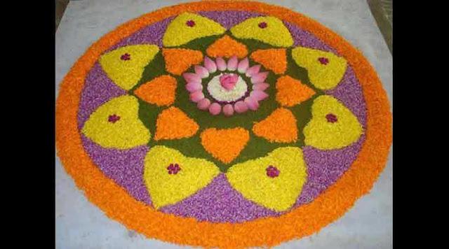 Easy Happy Diwali Rangoli Designs