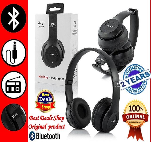 Wireless Bluetooth Headphone P47 bluetooth Headphone P47 headset