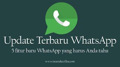 update terbaru dari WhatsApp