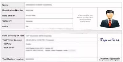 Hallticket sample Mumbai University admit card 2020