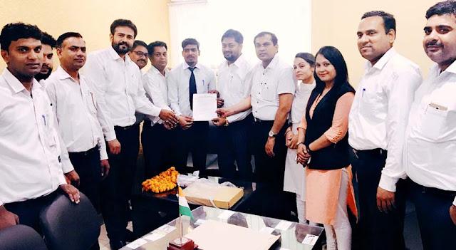 Arjun Chauhan becomes Faridabad Congress Legal Secretary's organization secretary