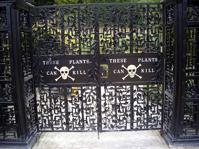 Los jardines venenosos de Alnwick Garden (Inglaterra)