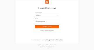 login mi cloud dengan email 04