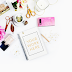 FREEBIE: Styled Stock Photography in Pink and Gold | Darmowe zdjęcie stockowe