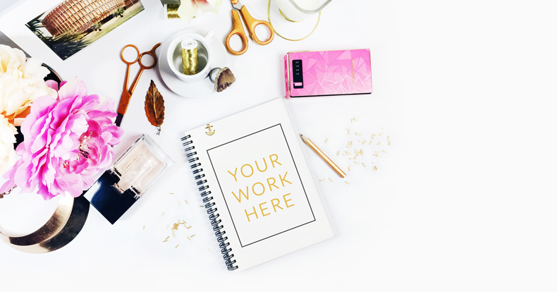 Girl Boss Wallpaper Iphone Freebie Styled Stock Photography In Pink And Gold