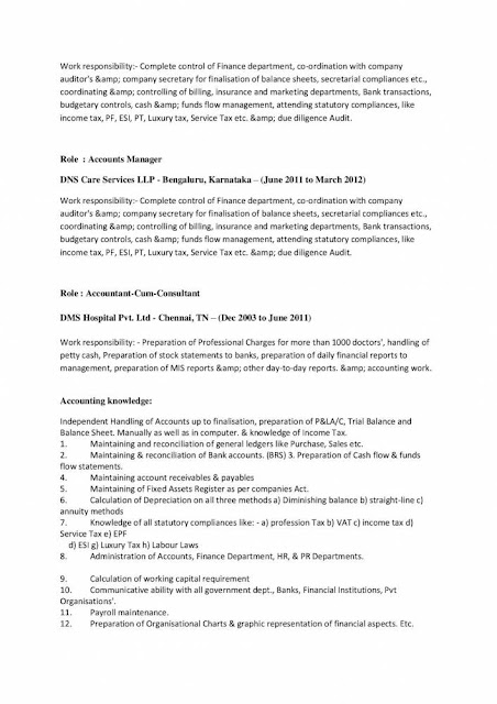 Account Manager Resume 2