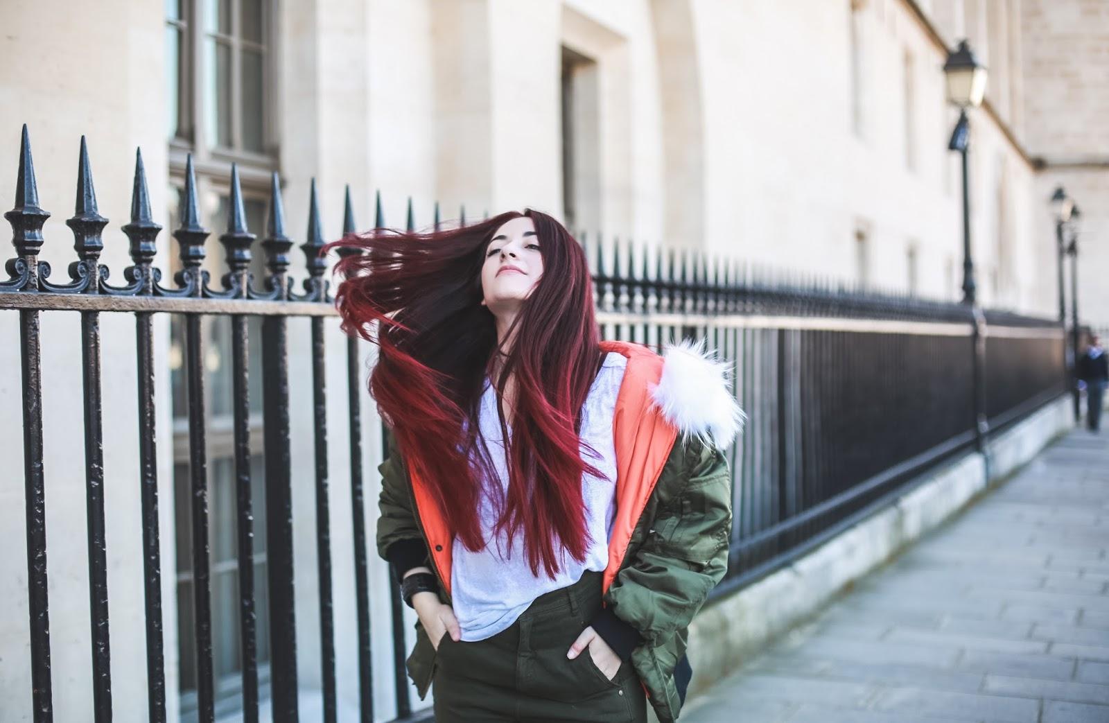 cheveux rouges blog