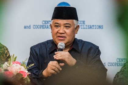 Soal FPI, Din Syamsuddin Minta Pemerintah Tidak Otoriter