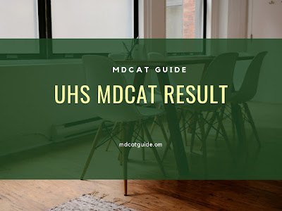 uhs mdcat result 2019