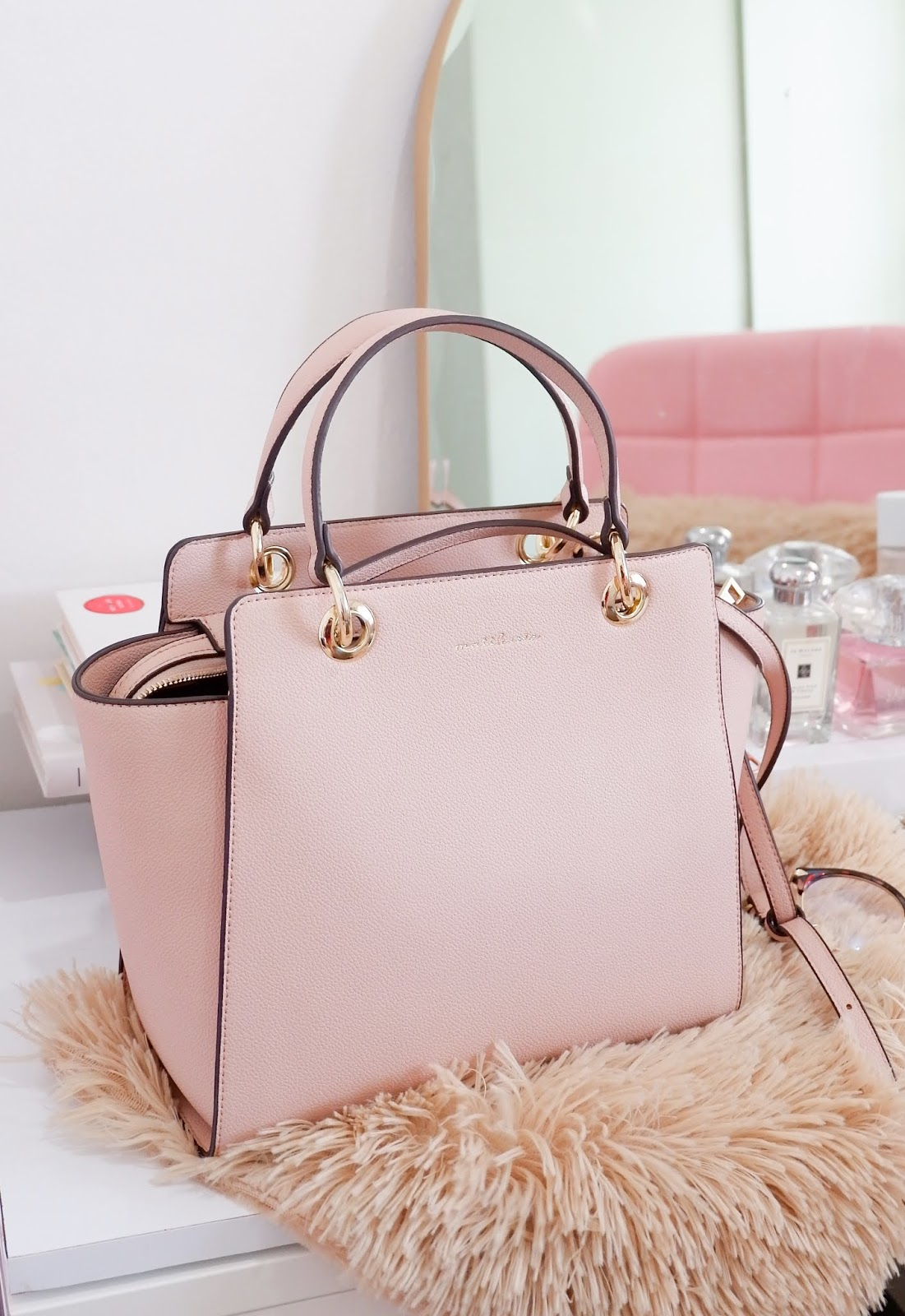 STYLE: GORGEOUS MATTHEWS PH LENNON PINK BAG