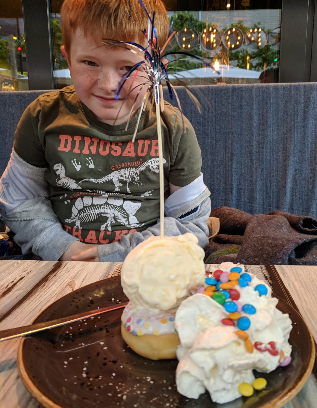 Kids dessert from Pops American Diner in Wassenaar