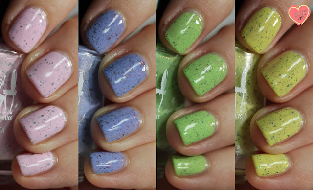 Girly Bits Springles Collection swatch by Streets Ahead Style