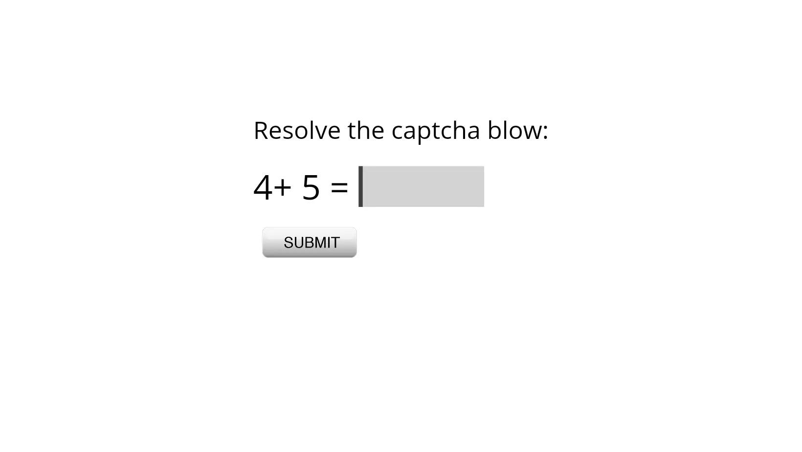 Math-solution-captcha