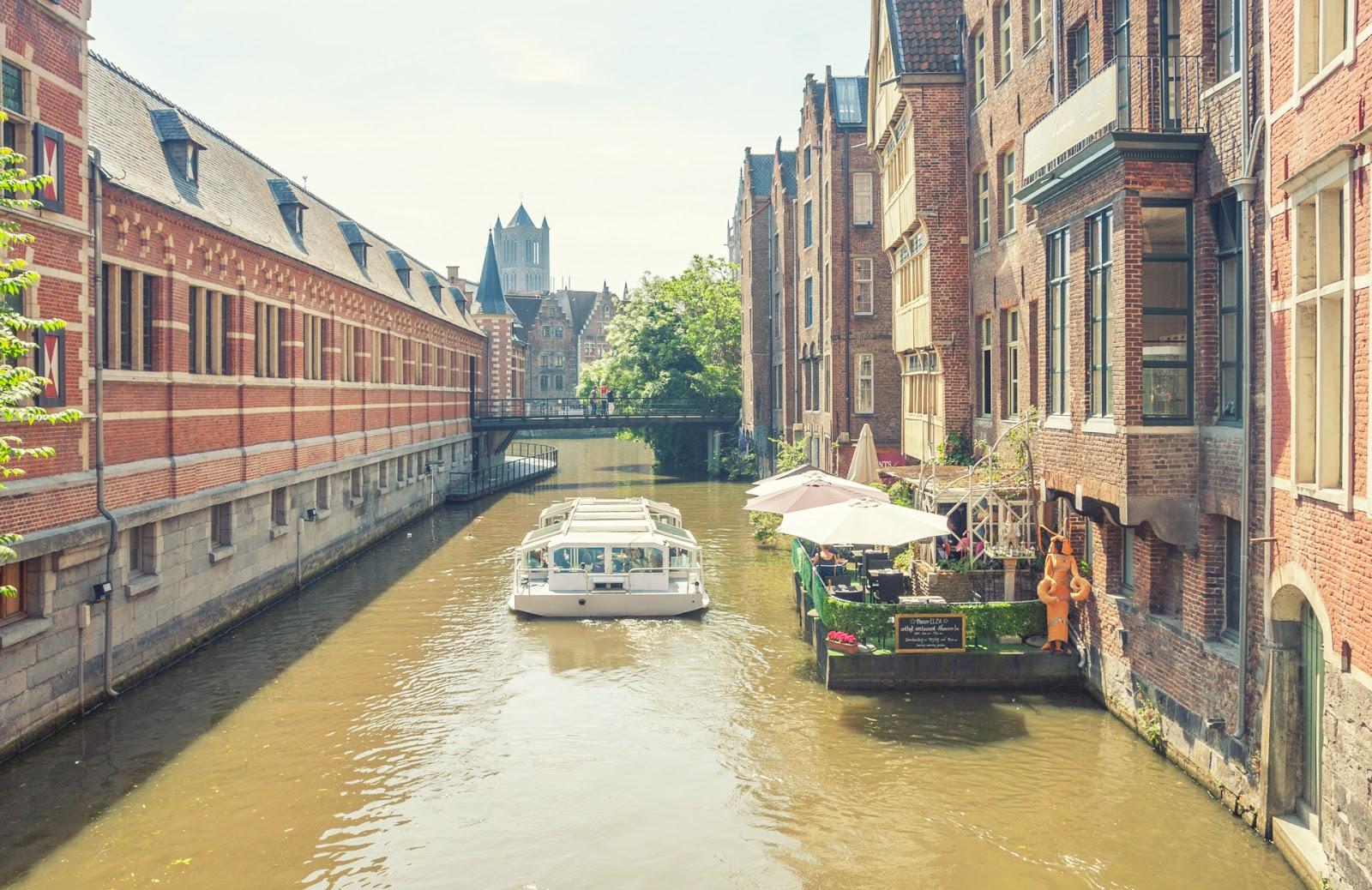 ville de gand gent belgique
