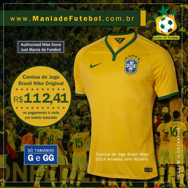 Camisa Oficial e Original com Preço Especial é na Mania de Futebol -  www.ManiadeFutebol.com.br ba43215e0e00d