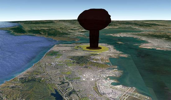 Explosão Nuclear San Francisco 1