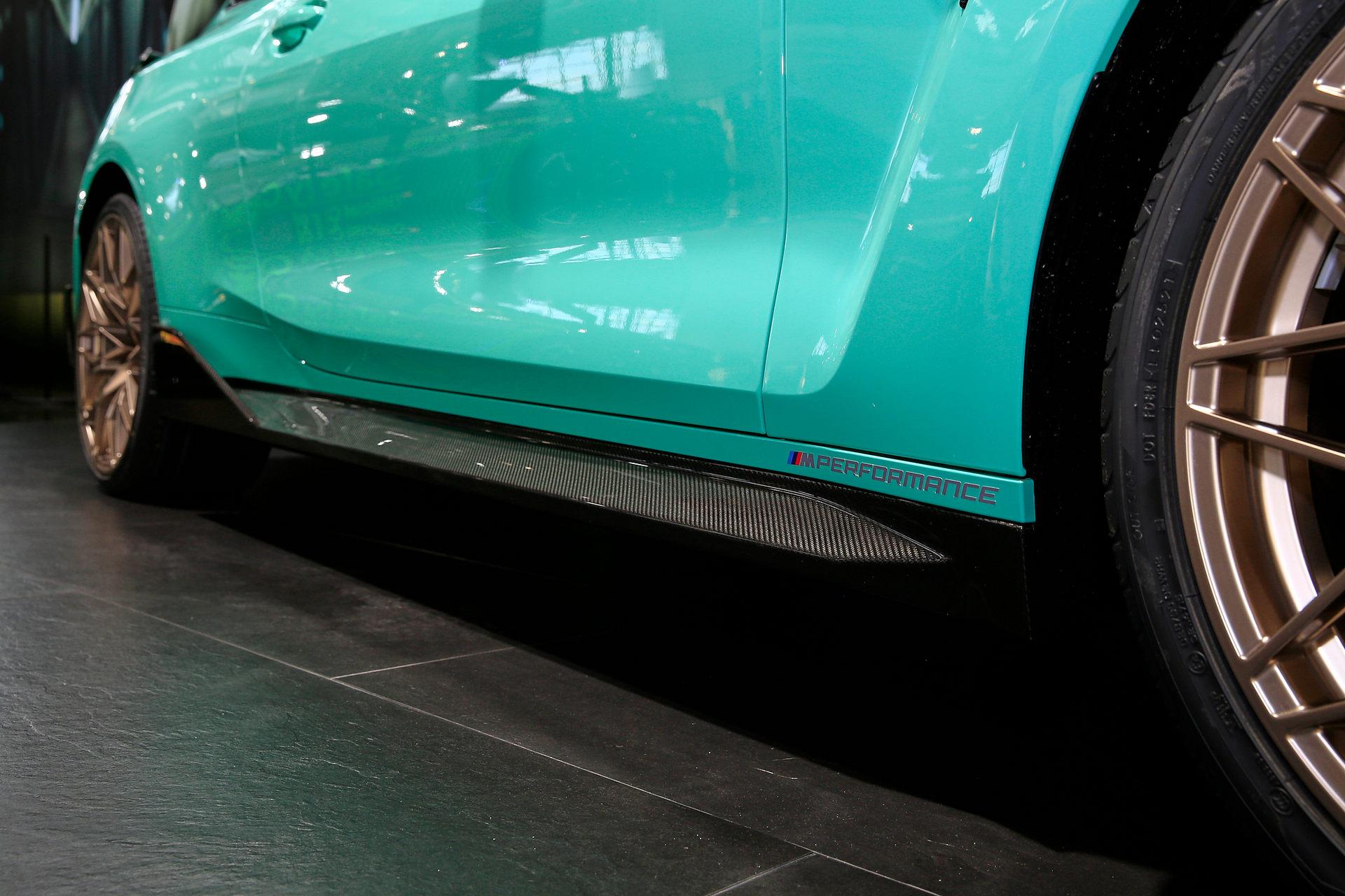 بي إم دبليو BMW M4 Competition تصميم الجانبي