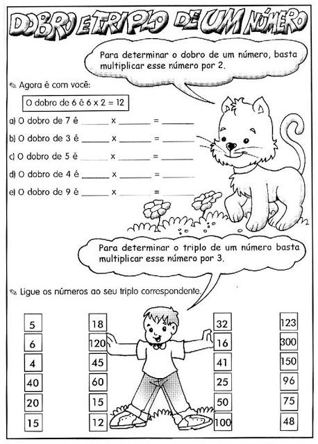 085 Atividades Multiplicação