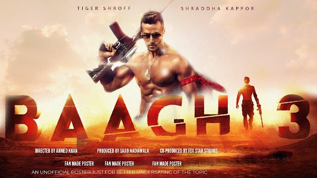 Baaghi 3 full movie download 300 mb in hd leaked by 123movies and 123moviesgo.