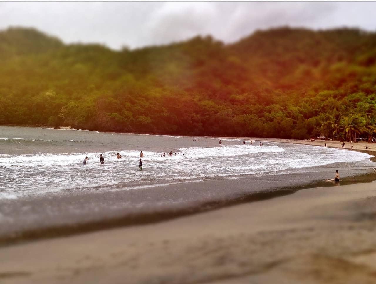 The beach at Pico de Loro Beach & Country Club
