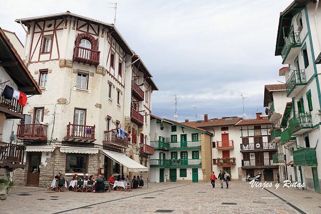 Calle de Santiago de Hondarribia