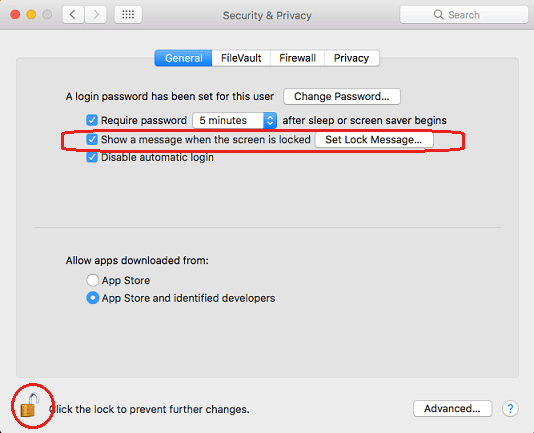 How to add a custom message to your macOS Login Screen?