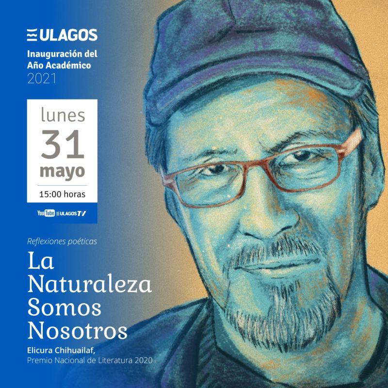 Premio Nacional de Literatura 2020 inaugurará el Año Académico de la ULagos