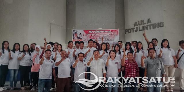 Dukung Jokowi 2 Periode, Anak Muda Toraja Bentuk Deklarasi Relawan Barisan Intelektual Muda Toraja