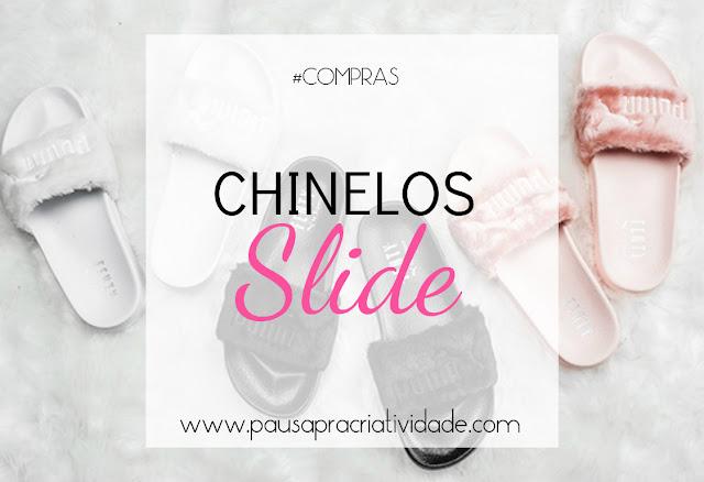 chinelo slide