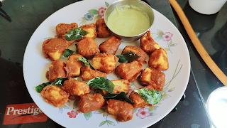 Crispy Paneer Kebab in 5 minutes - Pure Veg