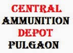 Central Ammunition Depot, Pulgaon Recruitment 2016 Casual Workers – 379 Posts